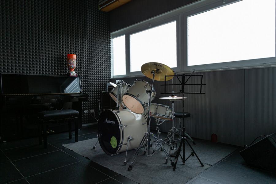 Sala prove per strumenti musica di ARTEInventando a Moimacco