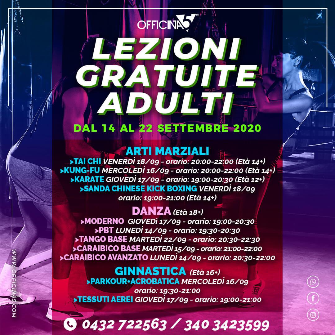 Lezioni gratuite di ginnastica e danza con ARTEInventando palestra a Moimacco