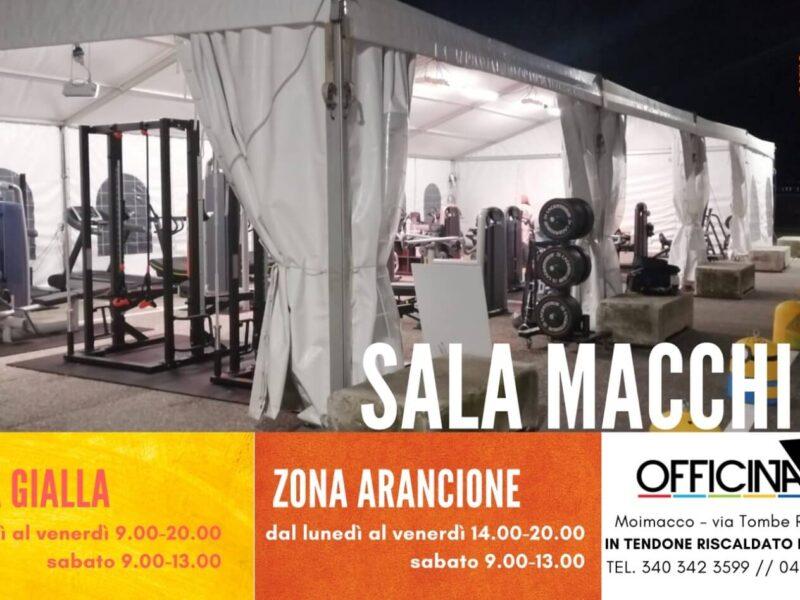 Nuovi orari di apertura di OFFICINA5 in zona gialla e arancione