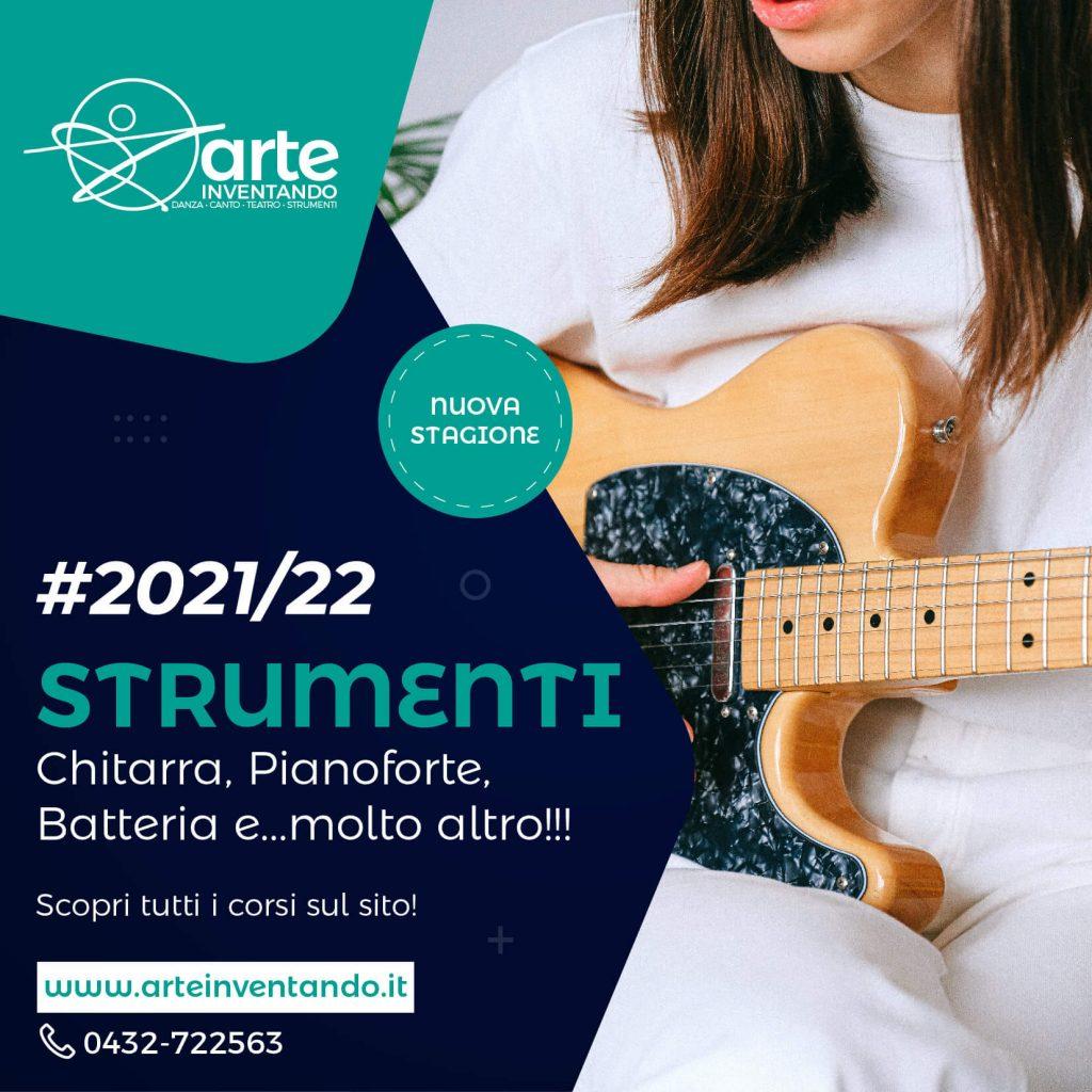Prova gratuita dei corsi di strumenti musicali a Remanzacco da Arteinventando